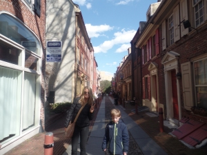Elfreth Alley