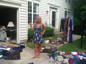 My fabulous yard sale!